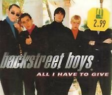 Backstreet Boys -  All I Have To Give   CD Single