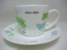 Sanrio Hello Kitty cup & Saucer JAPAN  Brand-new 2012 rare
