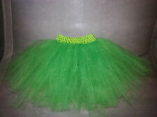 Children's Girl Tutu Skirt Tinkerbell Green Age 1 - 10 Years