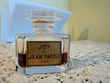Vintage Rare JEAN PATOU JOY PARFUM 1/2 oz 15 ml  Bottle Approx 40% Full No Box