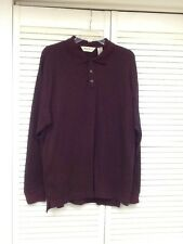 Men's 3 Button Long Sleeve Pullover by Eddie Bauer, Sz. Lg. GUC!