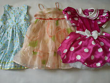 **AMAZING** 3X BRANDS GAP DISNEY M&SBUNDLE BABY GIRL PARTY DRESS 18/24 MTHS(0.4)