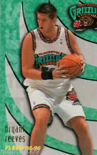 CARD N°347 BASKET=BRYANT REEVES (VANCOUVER GRIZZLIES)=NBA 95/96 FLEER=CM 8,9X6,4