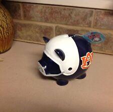 Auburn football piggie bank pig league new.