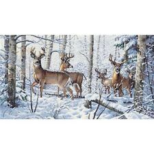 Dimensions Gold Collection Woodland Winter Counted Cross Stitch Kit - 277197