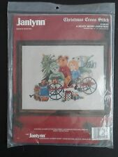 Janlynn A Beary Merry Christmas Counted Cross Stitch Kit Teddy Bears ~ SEALED