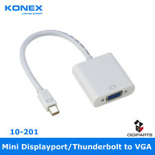 Mini DisplayPort Display port DP to VGA Cable Adapter Converter For Mac PC HDTV