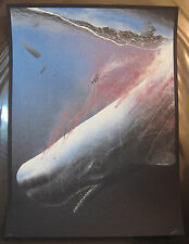 Descent Into Madness 2015 Marko Manev Signed Print Movie Poster Moby Dick LE