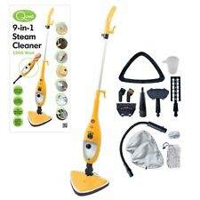 9-in-1 1300w Steam Mop Cleaner Steamer Floor Carpet Window Tile Washer NEW Clean
