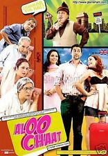 ALOO CHAAT - OFFICIAL UK SPEC BOLLYWOOD DVD - FREE POST