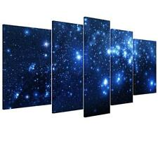 Unframed Canvas Prints Home Decor Wall Art Painting Picture Star Blue Sky Space