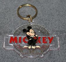 NICE VINTAGE DISNEY MICKEY MOUSE SIXTY YEARS KEYCHAIN MONOGRAM PRODUCTS NOS