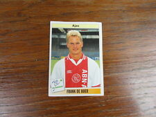 FOOTBALL STICKER PANINI collector : FRANK DE BOER AJAX AMSTERDAM VOETBAL 1995