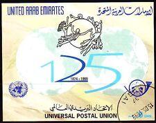 UAE 1999 Bl.20 UPU Universal Postal Union fine used [g675]