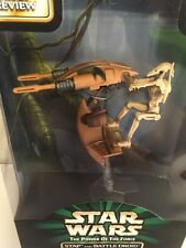 Star Wars Power Of The Force STAP & BATTLE DROID W/Firing Laser Missiles Kenner