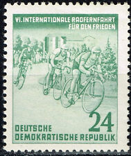 Germany Bicycle Peace Race stamp 1953 MLH