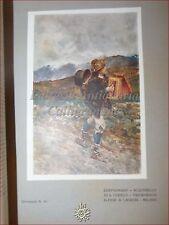 GIOVINEZZA Antica Rivista Illustr. 1909 n.10 Pellini Sardegna Corelli Zampognaro