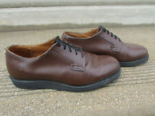 Red Wing Men's Heritage 101 Postman Oxfords Brown Leather Work Shoes 9 D