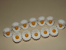 x6 Assorted Mini Daisy Small Plastic Hair Clips Claws Clamps Hair Accessories