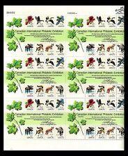 USA CAPEX '78 Fauna Sheet of 8 blocks 1978. Scott 1757+Mr. Zip(R) MNH (BI#BX50)