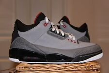 RARE NIKE AIR JORDAN 3 STEALTH UK10 Nero Cemento True Blue allevati 1 4 6 6 5 13 2