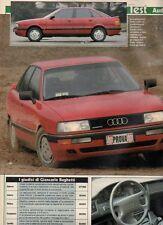 SP55 Clipping-Ritaglio 1988 Audi 90 quattro 20V