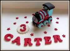 Edible Thomas The Tank engine cake topper,birthday,name,train,icing decoration