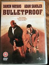 Adam Sandler Damon Wayans BULLETPROOF ~ 1996 Cop Action Comedy UK DVD