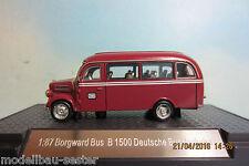 NPE NA 99087 Borgward B 1500 Bus DB Bahnbus ,Feinmodell,1:87 Spur H0 NEU OVP