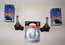 2 x OSRAM H11 LAMPE + 2 x OSRAM W5W 64211 / 2825-02B LAMP BULB 12V 55W / 5W