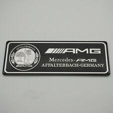 Aluminum Trunk Rear Car sticker emblem badge Fit for Mercedes-Benz S E C AMG