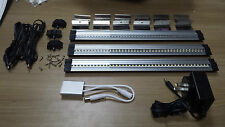 LED Cabinet Light - 42 Diodes 3W 12VDC Kit of 3 + Transfo & Dimmer - Warm White