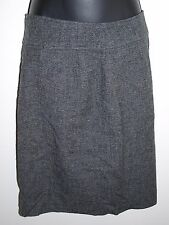 Proportion Petite Conrad C Womens Size 4 Gray Skirt Knee Length Wool Blend