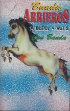 Banda Arrieros A Bailar Volumen 2  Cassette New Sealed
