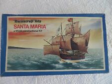 RARE VINTAGE MARINECRAFT KITS SANTA MARIA SHIP WOOD CONSTRUCTIONAL KIT *ENGLAND