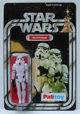 Vintage 1977 Star Wars Palitoy 12 Back Stormtrooper Recard Kit