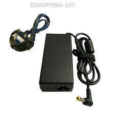 FOR TOSHIBA PA-1650-02 PA-1700-02 LAPTOP CHARGER ADAPTER + POWER CORD G081