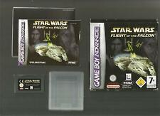 GAME BOY ADVANCE / STAR WARS - FLIGHT OF THE FALCON / MIT BOX UND ANLEITUNG