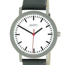 Aristo Men's Watch Stainless Steel Bahnhof 3H03
