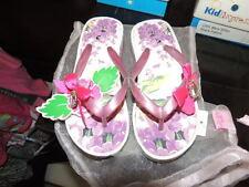 Lelli Kelly Size 11 Toddler Girls Wedge Floral Flip Flop Sandals Fantasia NEW