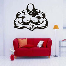 Removable Waterproof Wall Sticker Muscle Man Gym Pattern Home Decoration DIY