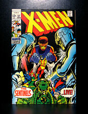 COMICS: Marvel: X-men #57 (1969, Vol 1), 1st Larry Trask/Sentinel Mark II app