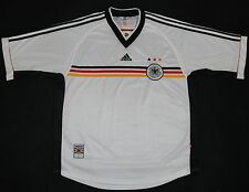 1998-2000 GERMANY ADIDAS HOME FOOTBALL SHIRT (SIZE XL)