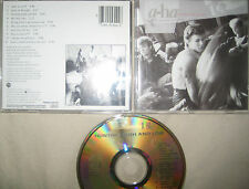 Rare Gold CD  A-ha ‎– Hunting High And Low Warner Brothers Germany (c) 1985