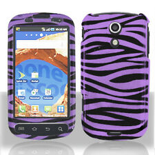 For Samsung Epic 4G Galaxy S D700 Hard Protector Case Phone Cover Purple Zebra