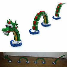 LEGO Brickley the Sea Serpent Nessy dragon instructions custom MOC 3300001 40019