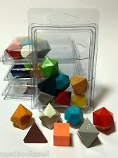 """Gamescience Assorted """"Ugly Dice"""" Precision 7pc Polyhedral Set Zocchi d20 D&D NEW"""