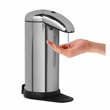 ZHIYUE 500ml Touchles Battery Operated Electric Automatic Soap Dispenser Silvery