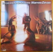"""WARREN ZEVON """"BAD LUCK STREAK IN DANCING SCHOOL"""" Vinyl LP ASYLUM 5E-509"""