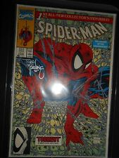 Spider-Man #1 Signed by Todd McFarlane  Excellent Condition NM With Milar